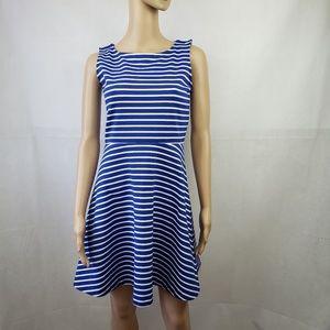 🔴SALE🔴 Talbots Blue White Striped Dress Size SP